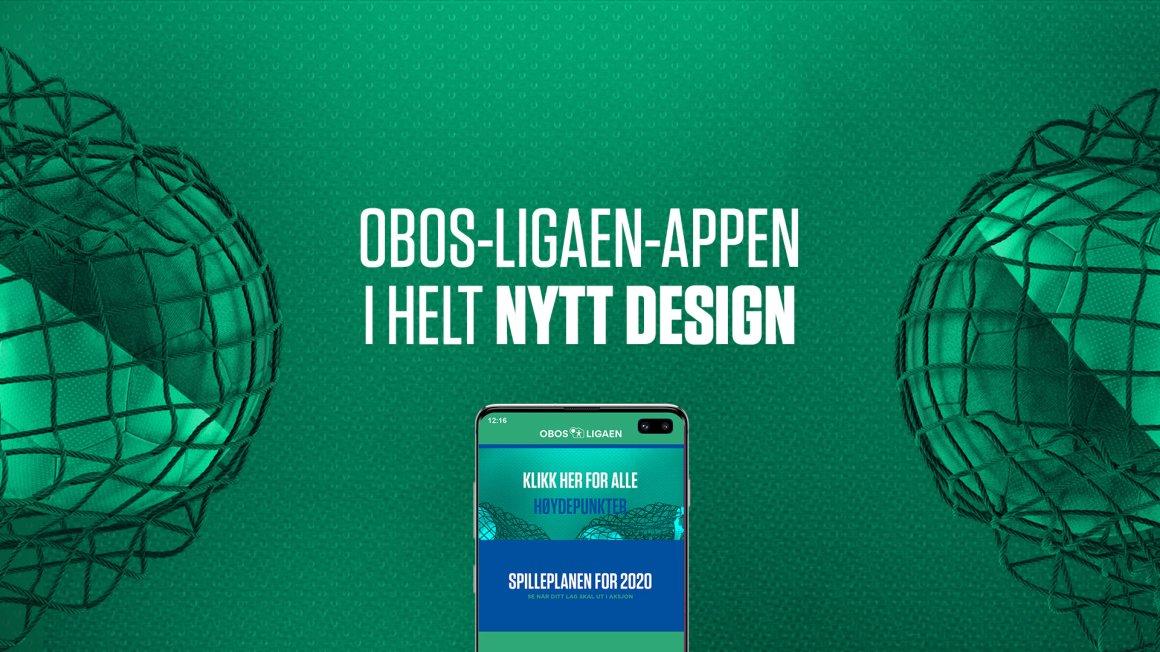 OBOS-liga appen i ny drakt!
