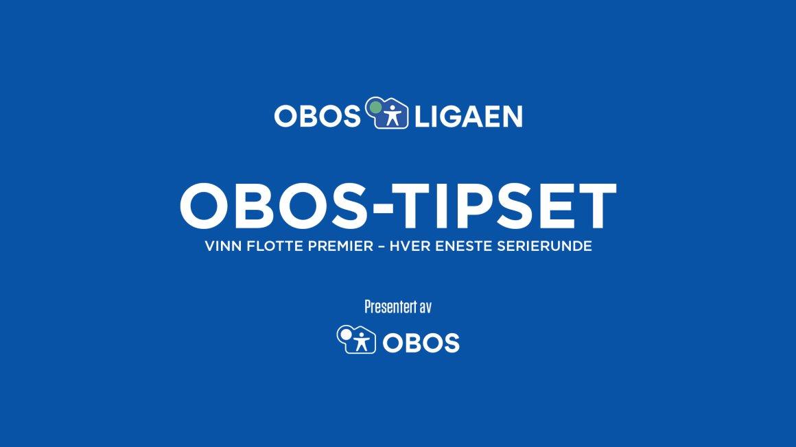 Er du OBOS-ligaens beste tipper?